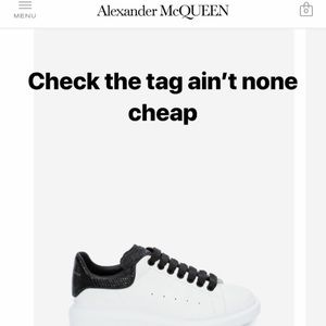 AlexZander McQueen men's sneaker